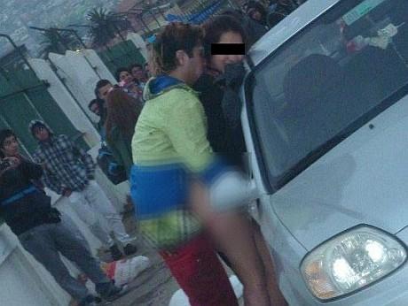 Video de Pareja teniendo relaciones sexuales en Muelle Baron en Fiesta ...