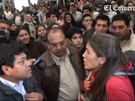 fueron recibidos los integrantes de Amazonas en aeropuerto peruano