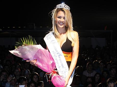 Bolocazo de brasileña en Feria del Transportes de Antofagasta (Fotos