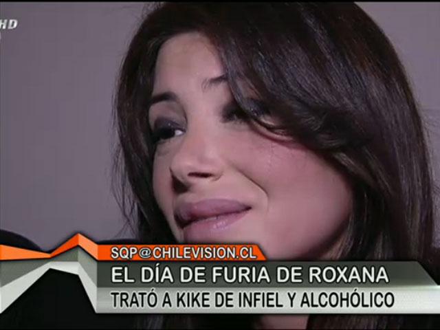 """Roxana Muñoz dispara contra Kike Acuña: """"Es infiel y alcohólico"""
